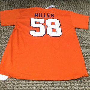 NWT Denver Broncos Von Miller Orange NFL T-Shirt L